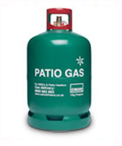 Patio Gas cylinders and refills delivered in Hampshire | Solent Bottled Gas Supplies
