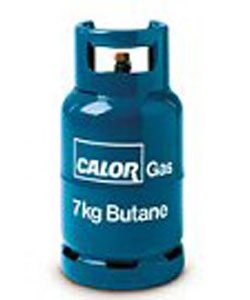 7kg Butane gas cylinder and refills | Solent Bottled Gas Supplies